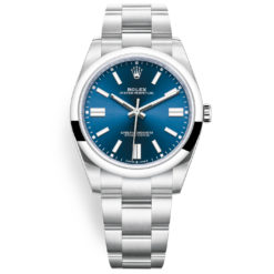 Rolex Oyster Perpetual 124300 Blue Index Dial Oyster Bracelet Watch