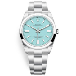 Rolex Oyster Perpetual 124300 Turquoise Blue Index Dial